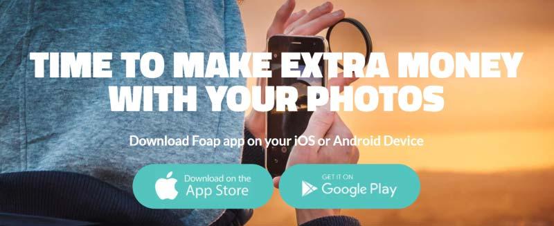 Foap, ganar dinero con tus fotos