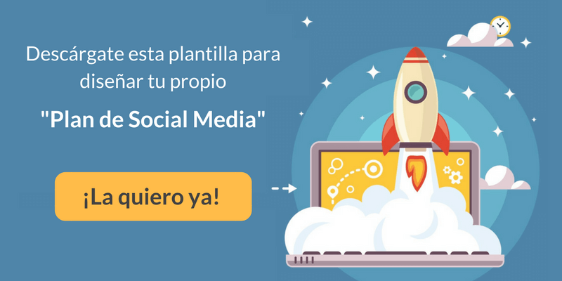 Plantilla Excel para crear un Social Media Plan