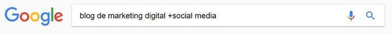 Incluir palabras adicionales a tu búsqueda en Google (+)