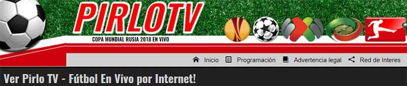 PirloTV - Ver el fútbol online y en directo