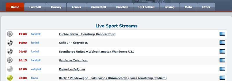 Sport Lemon ¡Ver aquí todo el fútbol por Internet!