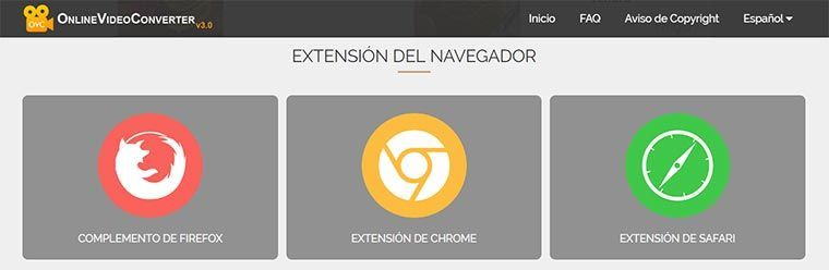 "▷ Guía de ""Online Video Converter\"