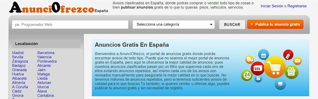 publicar anuncios gratis en espana