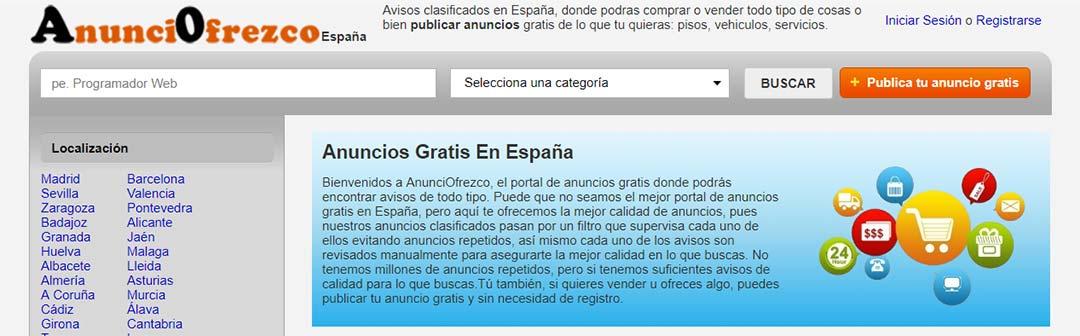 AnunciOfrezco, todos los anuncios que te imaginas en España