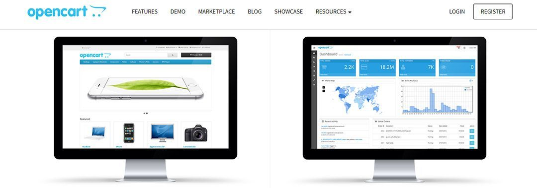 Opencart, plataforma de código libre para eCommerce