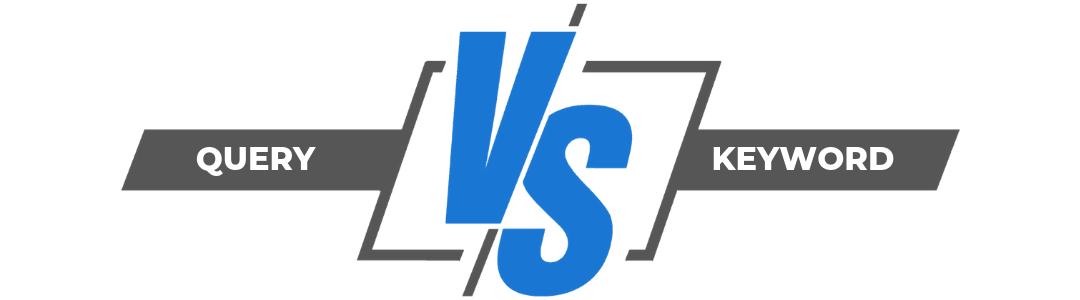 Diferencias entre Query y Keyword (o palabra clave)