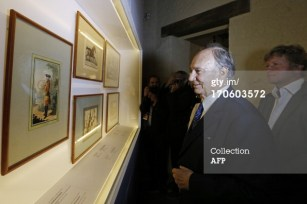 Inauguration of Musee du Cheval (The Museum of the Horse) in Chantilly
