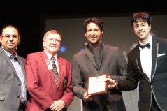 Salim-Sulaiman 2015 Toronto - Lions Club Award