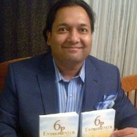 Author of The 6p Entrepreneur, Hussein K. Bawa to promote and discuss his book at Indigo Chapters