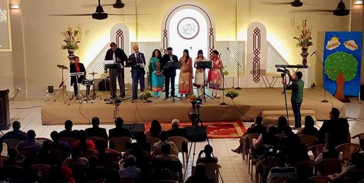 Kamal Taj & Young Ismaili Chorus Group performs at Darkhana Social Hall, Dar Es Salaam for Nav'roz Celebrations