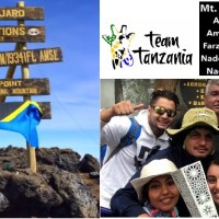 Team Tanzania takes Fanous to new heights, atop Africa's highest summit, Mount Kilimanjaro