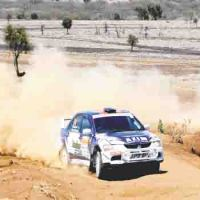 Rally driver Azim Somji puts on his racing suit, wins major sponsorship