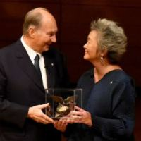 Symbolism of the medal created for the Adrienne Clarkson Prize for Global Citizenship presented to His Highness Prince Karim Aga Khan