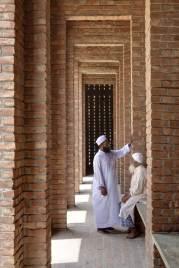 The riwaq, or colonnade. Aga Khan Award for Architecture 2016 Winner: Bait ur Rouf Mosque Dhaka, Bangladesh