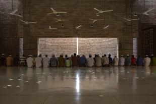 Built within a modest budget. Aga Khan Award for Architecture 2016 Winner: Bait ur Rouf Mosque Dhaka, Bangladesh