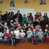 Singaporean family celebrates child's birthday by raising funds for Bishkek Children's Center