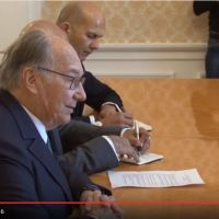 Video: Negotiations between Sergey Lavrov and His Highness Prince Karim Aga Khan IV