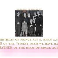Jubilating 106th Birthday: Prince Aly Salman Khan