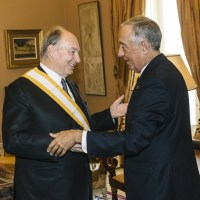 His Highness the Aga Khan receives Presidential Honour - Grand Cross of the Order of Liberty in recognition of his service to humanity
