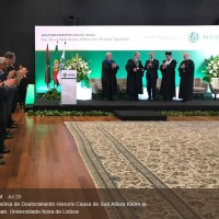 Social Media: His Highness Prince Karim Aga Khan receives double honours in special ceremonies graced by the President of the Portuguese Republic