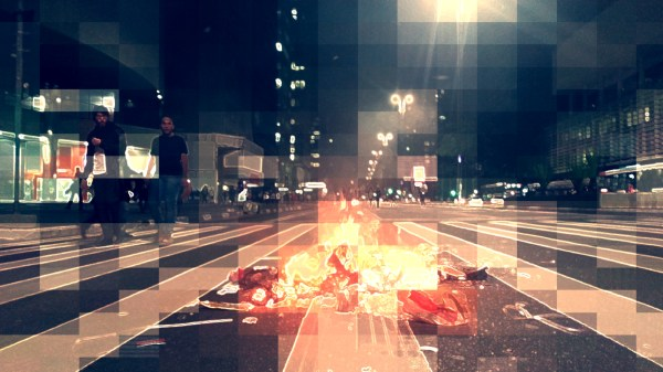 Protesto de Estudantes na Avenida Paulista