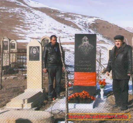Şəhid məzarı ziyarət olundu