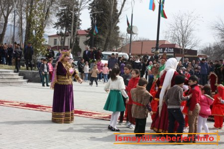 İsmayıllıda Novruz bayramı
