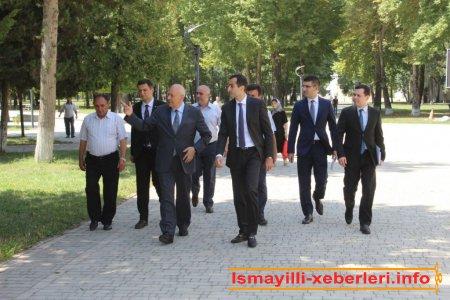 Azərbaycan Respublikası Prezidenti Administrasiyasının şöbə müdiri İsmayıllıda