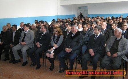 Hacıhətəmli kəndində Ümummilli lider anılıb