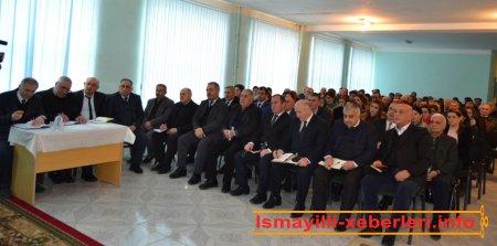 Təzəkənd kəndində görüş-qəbul
