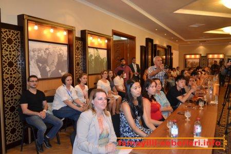 VII Beynəlxalq Multikulturalizm Yay Məktəbinin iştirakçıları İsmayıllıda