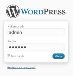 Kullanıcı Girişi Sayfası