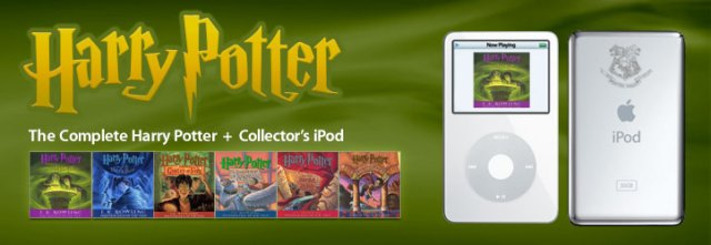 Harry Potter iPod banner
