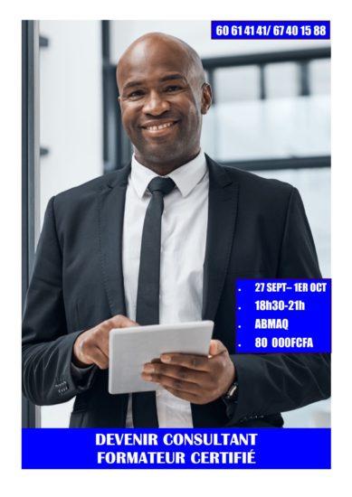 Du 27 septembre au 1er octobre, devenez Consultant Formateur Certifié