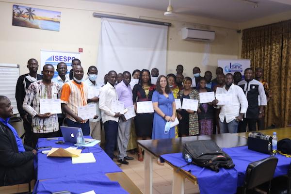 ISMIC-ISESPO: 35 cadres certifiés en gestion de la sécurité humanitaire