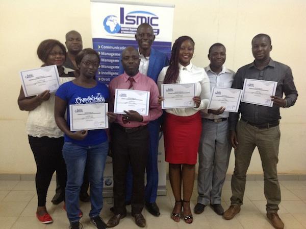 Séminaire international : ISMIC forme 15 cadres en négociation et mobilisation de ressources