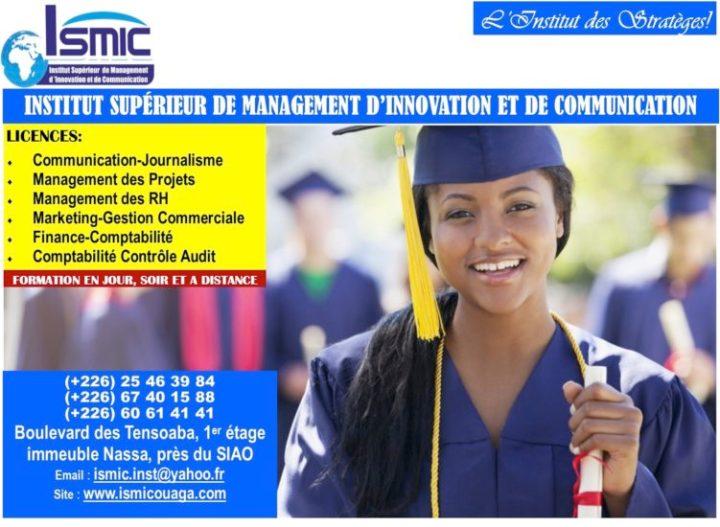 ISMIC : Recrutement d'étudiants en communication et journalisme