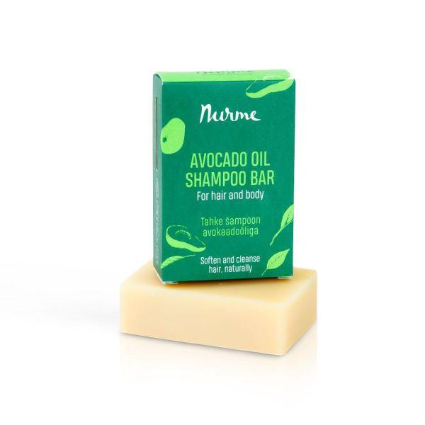 nurme tahke šampoon avokaadoõliga
