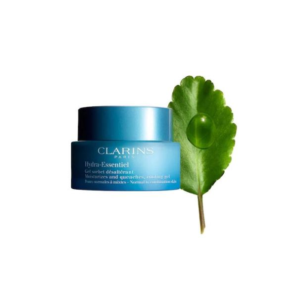 clarins hydra essentiel cooling gel normal to combination 50ml
