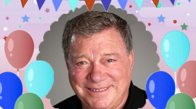 March 22 – William Shatner gets a pretend interview with a fictional unobserved man