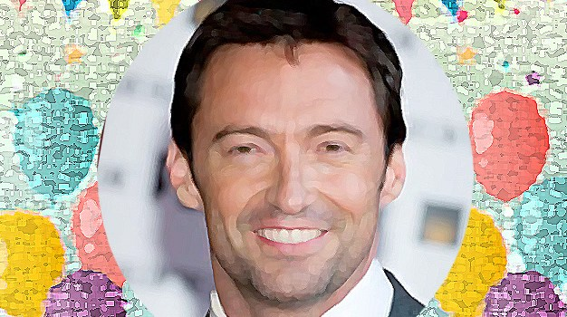 October 12 – Hugh Jackman gets a man in a suit in a kiosk on a street
