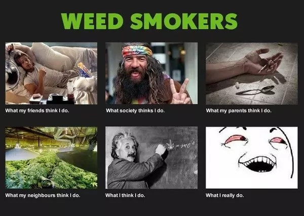 Funny Picture - Weed Smokers