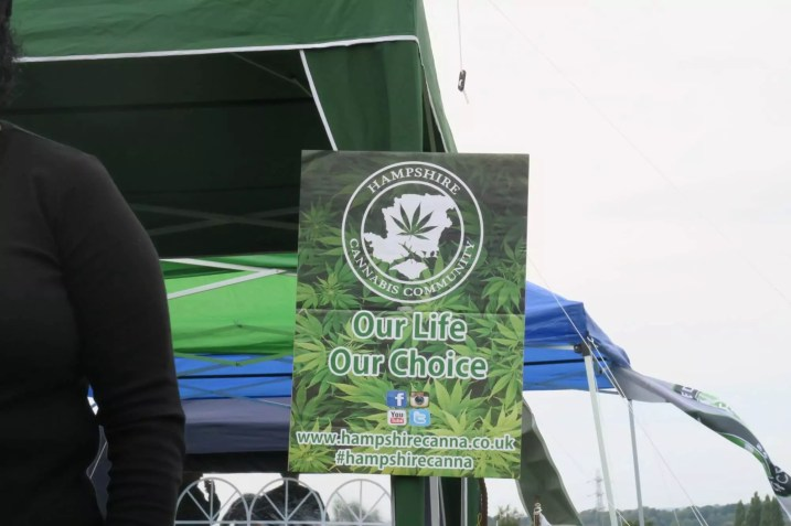 Hampshire Cannabis Community Poster