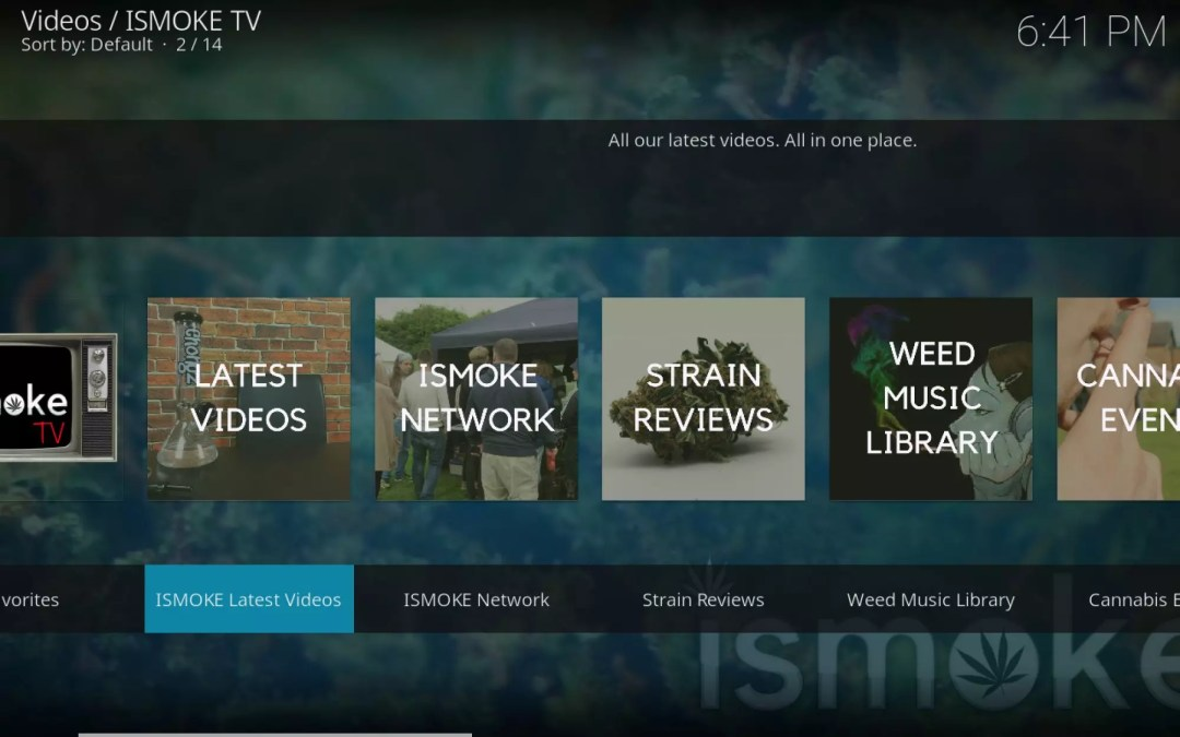 , ISMOKE TV Update – New Features, Channels & More!