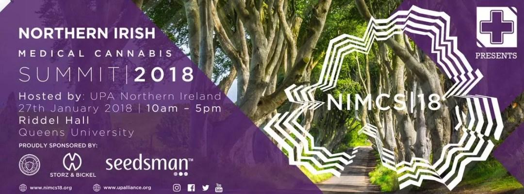 , UPA Forthcoming Northern Irish Medical Summit 27th Jan 2018, ISMOKE