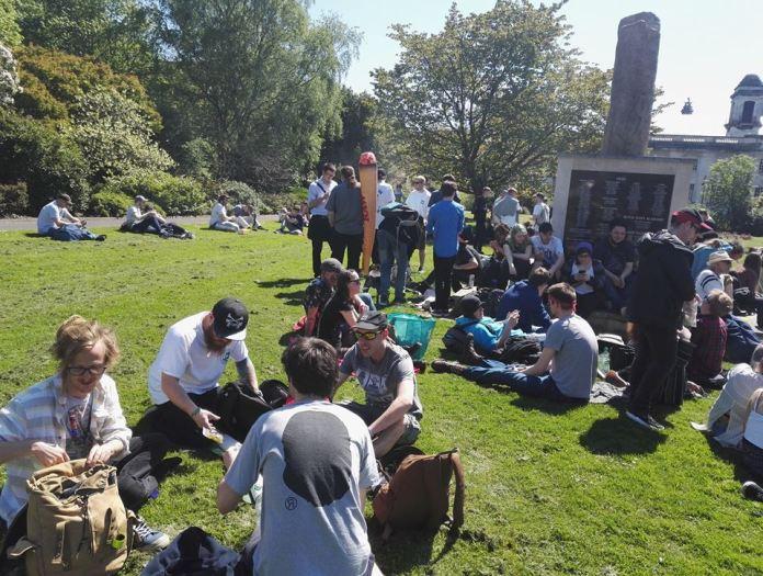 , Cardiff Marijuana March 2018