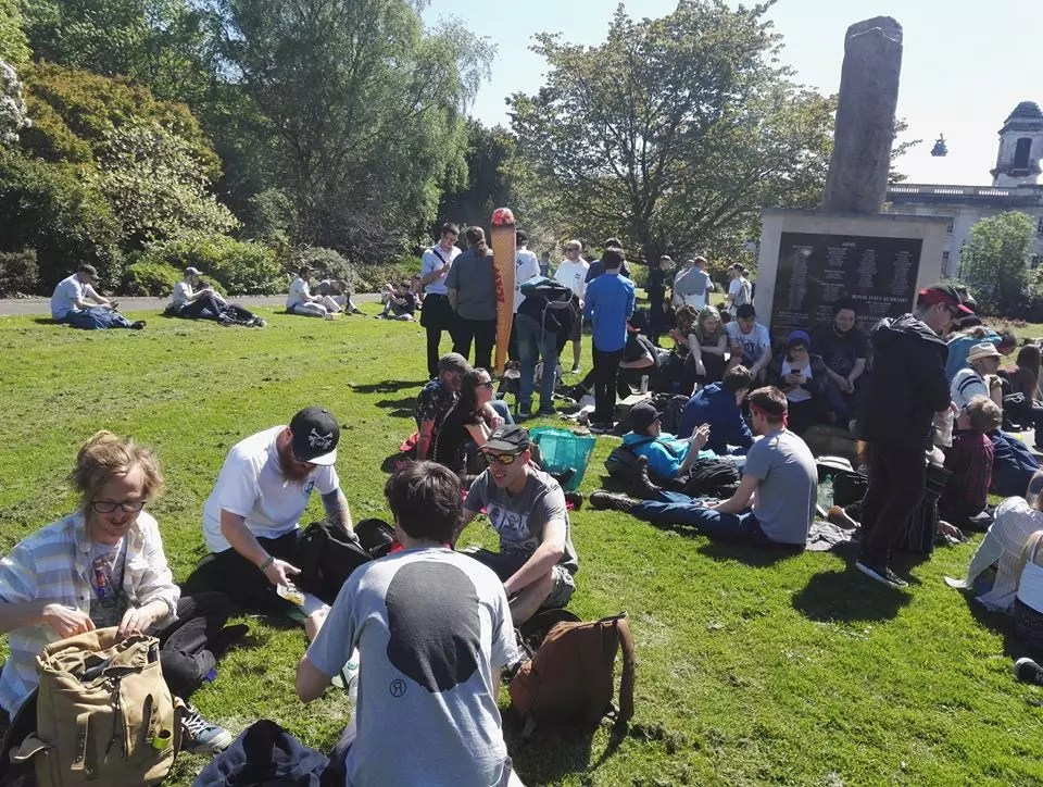 , Cardiff Marijuana March 2018, ISMOKE