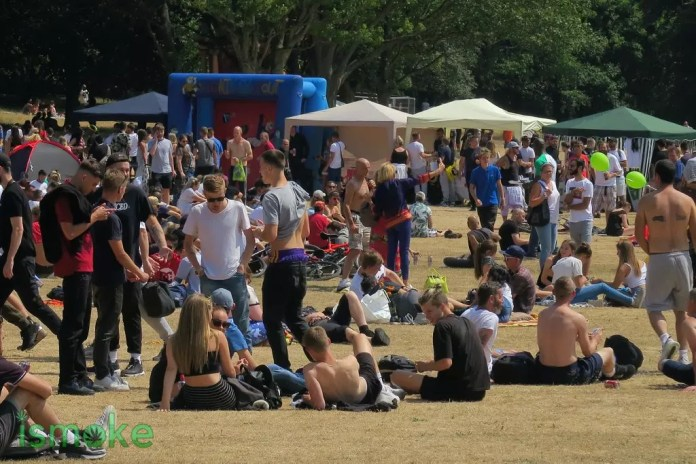 Green Pride 2018, ISMOKE at Green Pride 2018