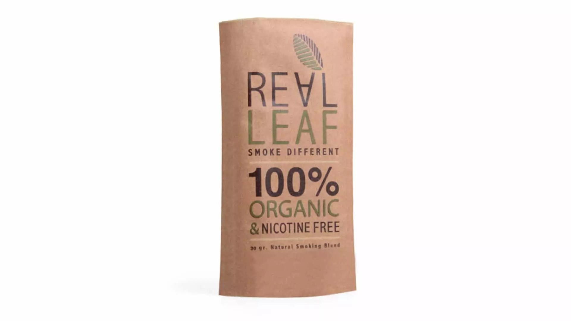 REAL LEAF TOBACCO ALTERNATIVE