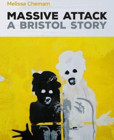 """Portada del libro """"Massive Attack: A Bristol Story"""". Imagen: Bristol247"""